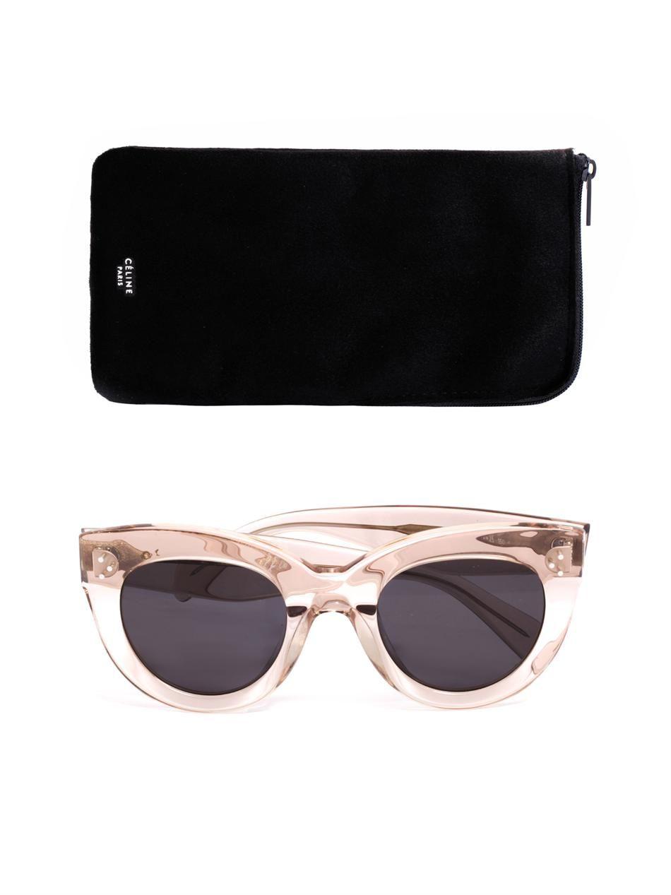 89e58d386d57 Transparent cat eye sunglasses Céline Sunglasses MATCHESFA on PopScreen