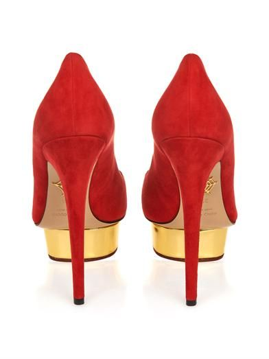 Charlotte Olympia Dolly signature pumps