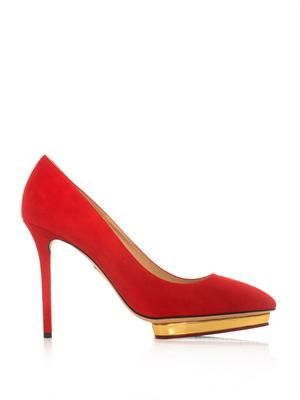 Debbie suede pumps