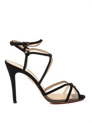 Isadora suede sandals