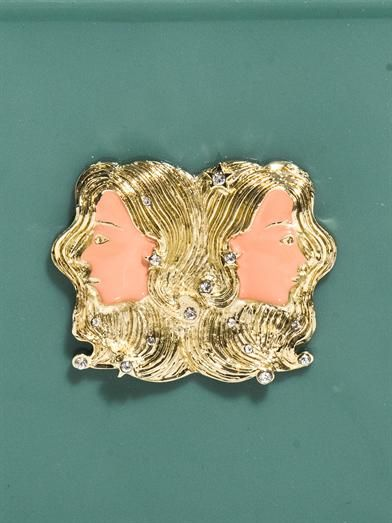 Charlotte Olympia Gemini Zodiac Pandora clutch
