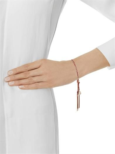 Carolina Bucci Rose gold-plated silver Lucky bracelet