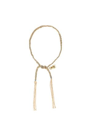 Yellow gold lucky bracelet