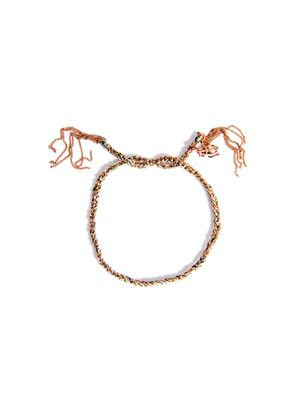 Rose gold lucky bracelet
