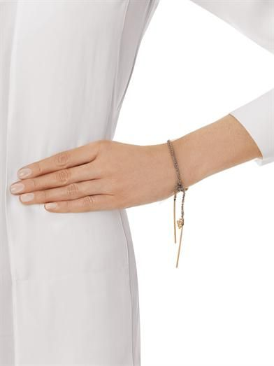 Carolina Bucci Pink gold Intuition Lucky bracelet
