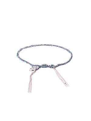 White-gold Lucky bracelet