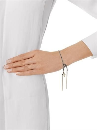 Carolina Bucci White-gold Lucky bracelet
