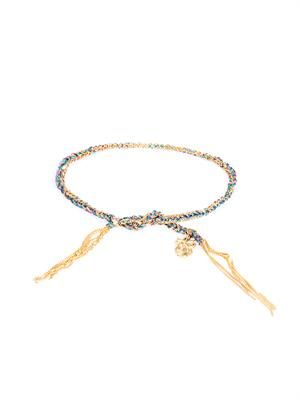 Yellow-gold lucky Intuition bracelet
