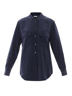 Signature silk shirt