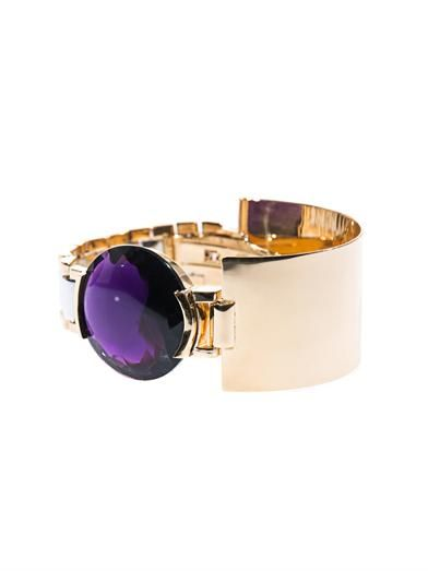 Delfina Delettrez Quartz, silver & yellow gold-plated bracelet