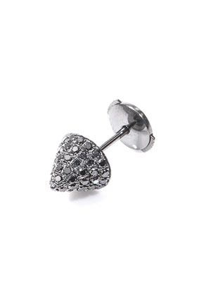 Diamond & gold muse stud earring