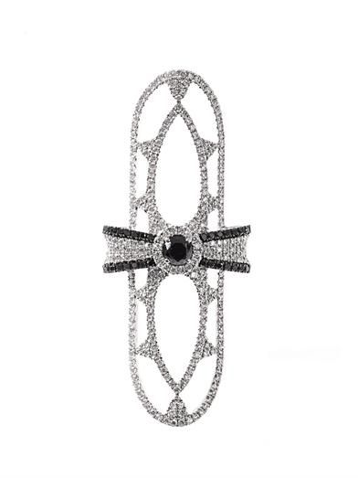 Elise Dray Diamond & white gold bow ring