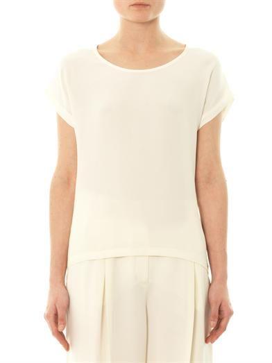 Freda Caris silk T-shirt
