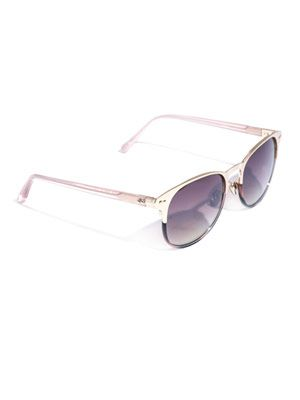 Club blush-horn sunglasses