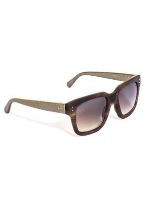 Watersnake and acetate sunglasses