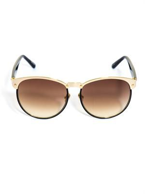 Aviator Windsor rim tortoiseshell sunglasses