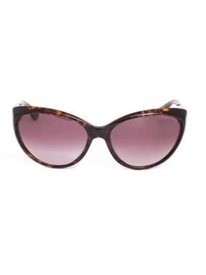 Havana cat-eye sunglasses