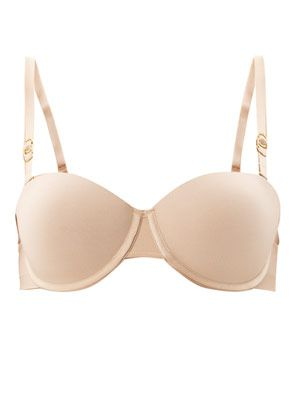 Smooth strapless bra