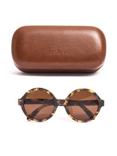 Illesteva Sophie round sunglasses