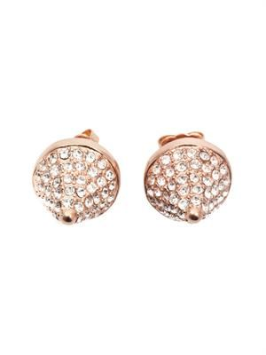 Pave cone earrings