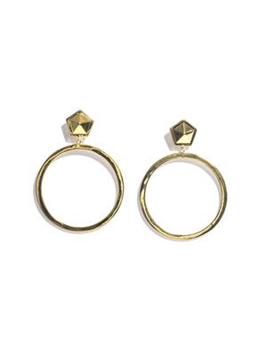 Paradox hoop earrings
