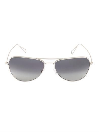 Isabel Marant X Oliver Peoples Aviator-style sunglasses