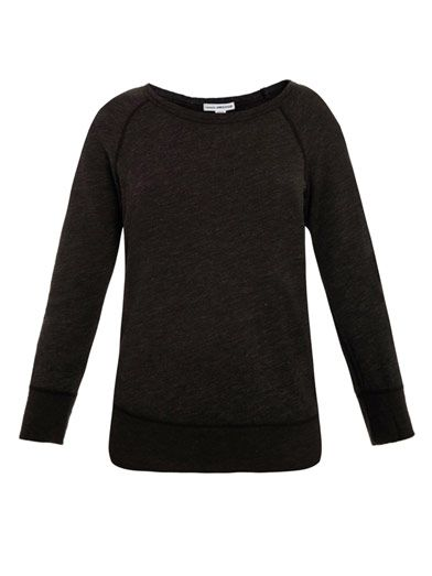 James Perse Boat neck sweatshirt