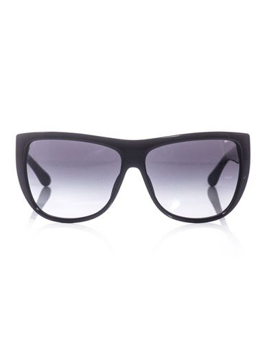 Marc by Marc Jacobs D-frame striped-arm sunglasses