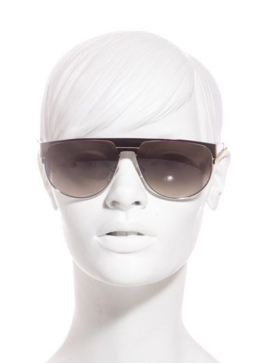 Marc by Marc Jacobs Straight-top Aviator-style sunglasses