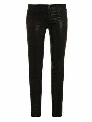 901 Stealth coated low-rise skinny jeans