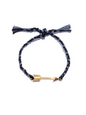 Gold-plated arrow bracelet