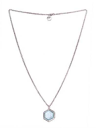 Jade Jagger Diamond, aquamarine & white-gold necklace