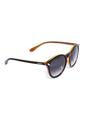 Bi-colour acetate sunglasses