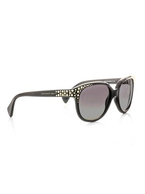 Gold stud sunglasses