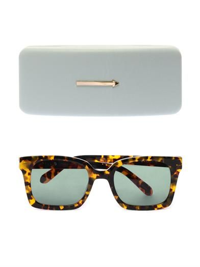 Karen Walker Eyewear Praise Keeper tortoiseshell sunglasses