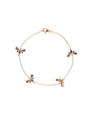 Diamond & yellow gold Bee bracelet