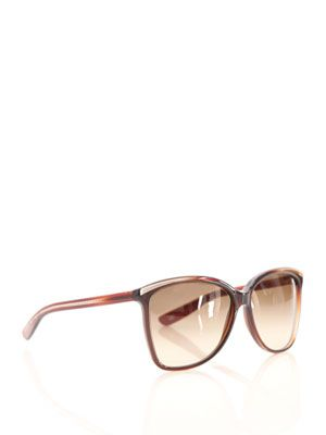 Tortoiseshell cat's-eye sunglasses
