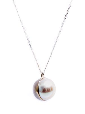 Pearl and gold Arlequin necklace