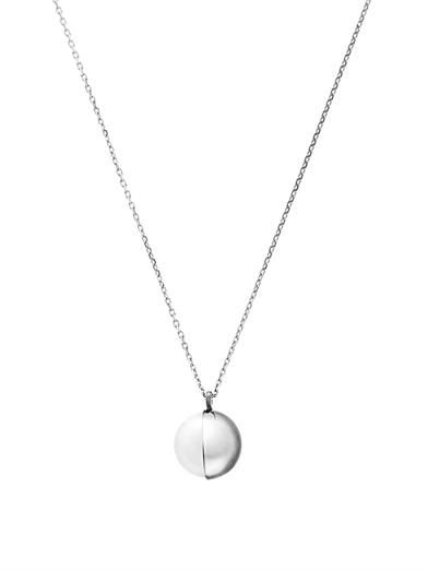 Melanie Georgacopoulos Peacock pearl & white gold Tasaki necklace