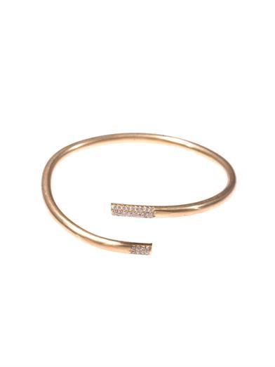 Lara Melchior Diamond & yellow gold bracelet