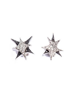 Diamond and gold 'Bang' stud earrings