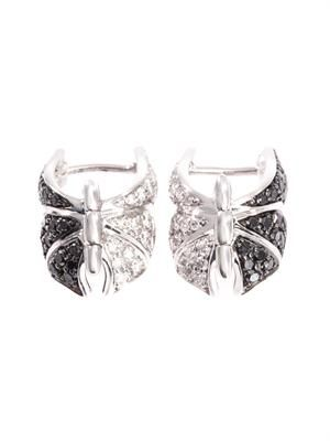 Diamond & gold Fly by Night earrings