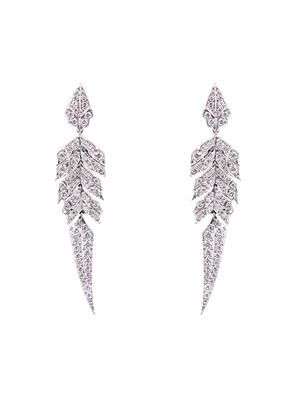 Diamond & gold Magnipheasant earrings