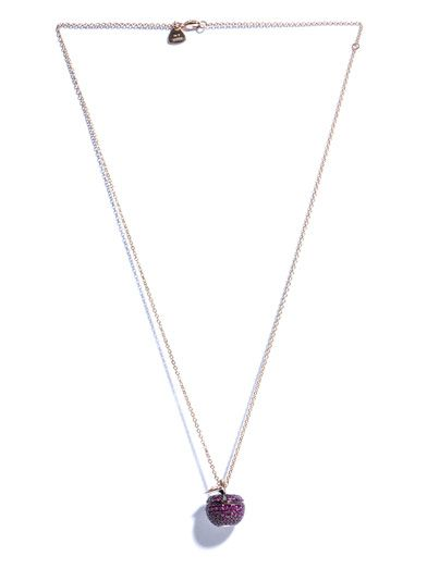 Stephen Webster Ruby, diamond & gold Poison Apple necklace