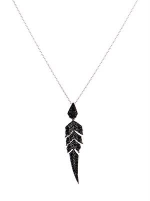Diamond & gold Magnipheasant necklace