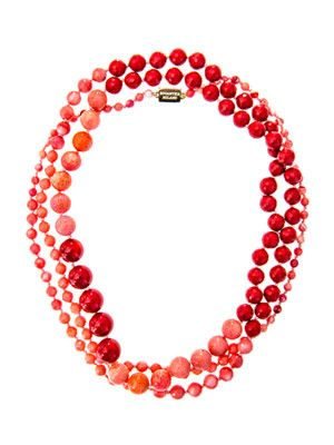 Arianna coral necklace