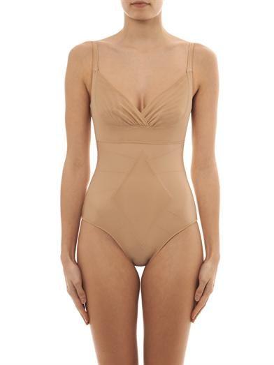 Resultwear by Dmondaine Ginger thong bodysuit
