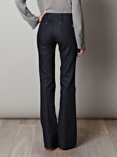 MiH Jeans Marrakesh mid-rise kick-flare jeans