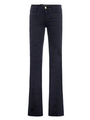 Marrakesh mid-rise kick-flare jeans