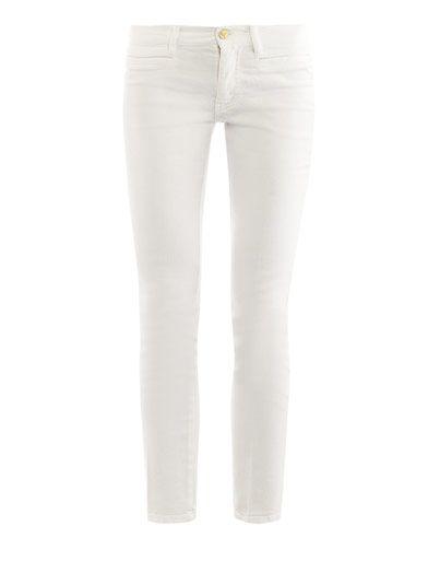 MiH Jeans Paris mid-rise slim-leg jeans